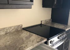 Stove top finish